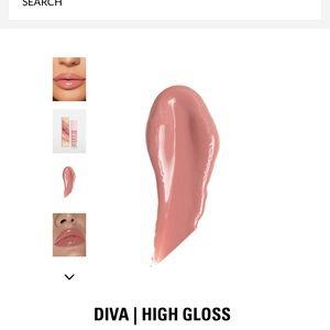 Kylie Cosmetics Makeup - Brand Kylie high gloss in shade Diva